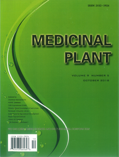 烯旺科技医疗成果发表在国际权威医学杂志《MEDICINAL PLANT》