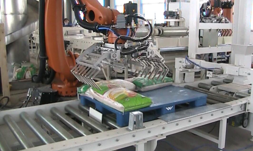 工业机器人搬运(码垛)工作站