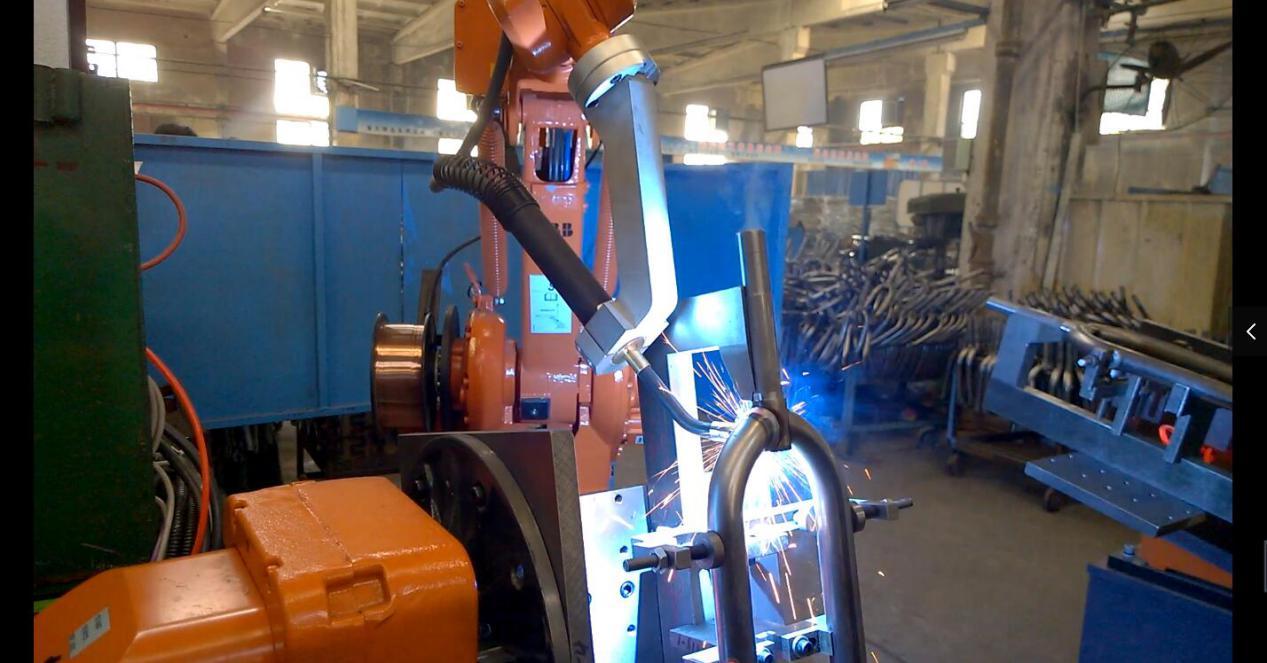 工业机器人弧焊工作站工艺