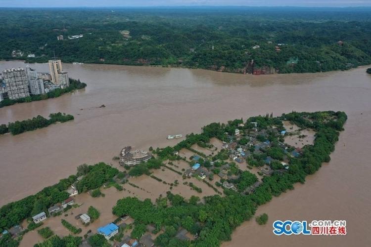 (转载)最大程度减少洪涝灾害损失!尹力赴乐山市和省气象局调研指导抗洪抢险工作