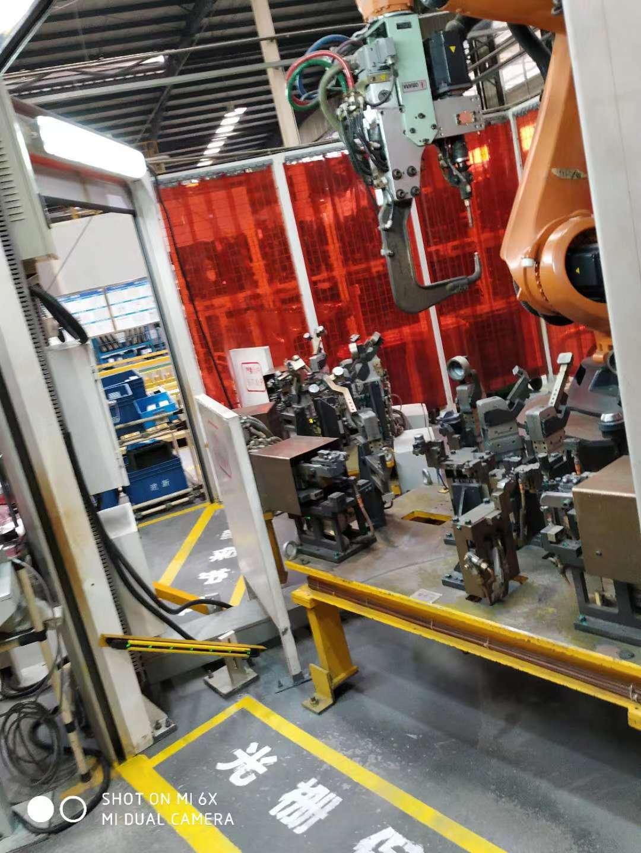 工业机器人点焊工作站